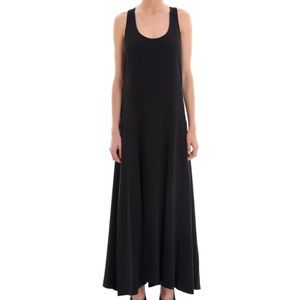 NWT Theory Palushaj Black Maxi Dress Summer Size 2